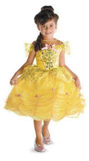 Girls Belle Classic Disney Halloween Costume