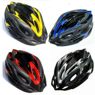 NEW 2012 Cycling Bicycle Adult Bike Helmet carbon With Visor 19 Holes