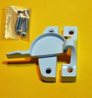 Box of 5 Window Sash Locks Narrow White New from  5298666