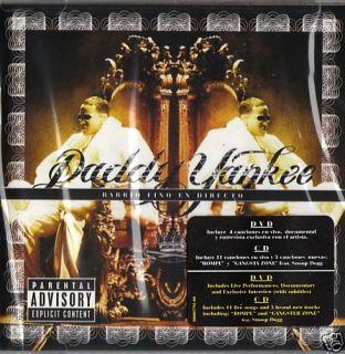 Daddy Yankee   Barrio Fino En Directo (CD + DVD) NEW