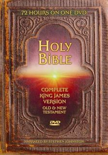 Holy Bible King James Version   Complete Bible DVD, 2009