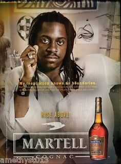 COGNAC AD 2004 MY INSPIRATION KNOWS NO BOUNDARIES ~ SANFORD BIGGERS