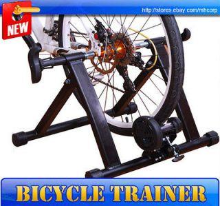 New Mag Bicycle Bike Trainer Indoor Kinetic Steel Frame Stationary
