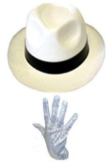 with Black Band & Sequin Glove Michael Jackson Billie Jean Fancy Dress