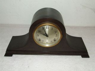 SETH THOMAS Cymbal #8 Mantel Clock with Quarterly Bim Bam Chime