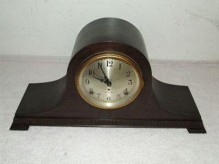 SETH THOMAS Cymbal #8 Mantel Clock with Quarterly Bim Bam Chime