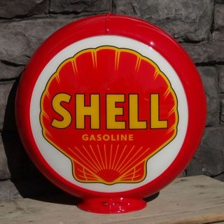 Shell Gasoline   13.5 Gas Pump Globe