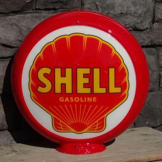 Shell Gasoline   13.5 Gas Pump Globe