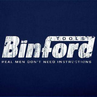 BINFORD TOOLS home improvement vintage funny T Shirt M