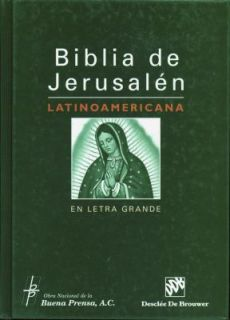 Biblia de Jerusalen Latinoamericana en Letra Grande 2009, Paperback