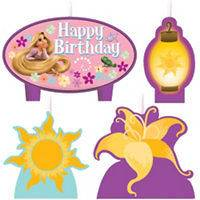 Disneys Tangled Birthday Party Birthday Candles 4ct