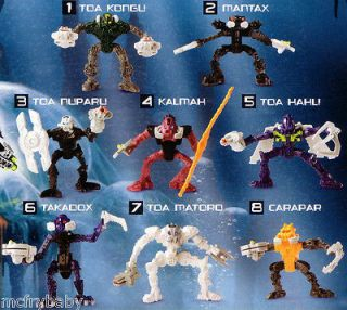 bionicle mcdonalds toys