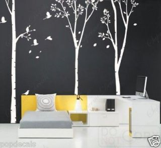 birch tree decals in Decals, Stickers & Vinyl Art