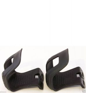 ZEFAL BIKE BICYCLE ROAD/MTB HALF MINI PEDAL TOE CLIPS LARGE