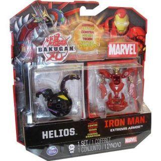 Bakugan Battle Brawlers Helios versus Iron Man Extremis Armor   RED