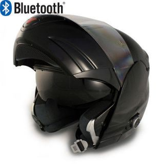 Torc T 22B Interstate Bluetooth Modular Motorcycle Helmet Gloss Black