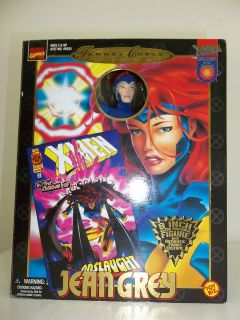 Toy Biz Marvel Famous Cover Series Jean Grey 8 Figure Fabric Costume