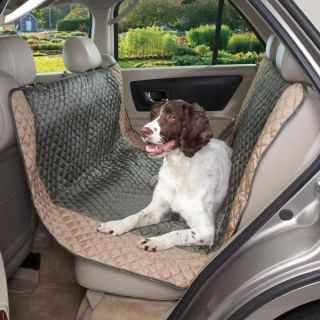 style CAR SEAT protective COVER moss green or black Pet Dog Van SUV
