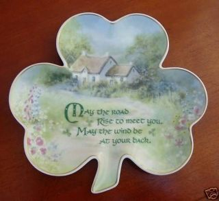 FRANKLIN MINT COLLECTOR PLATE AN IRISH BLESSING LTD ED