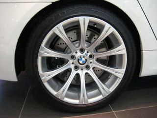 BMW E60 M5 Hyper Silver Wheels 19 Rims Staggered 3 series 99 00 01 02