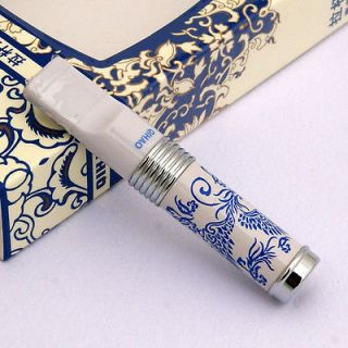 type filtering Blue & White Porcelain cigarette holder PHOENIX