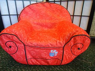 Blues Clues Child Size Plush Red Thinking Chair GUC Nick Jr. Rare