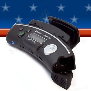 FM Transmitter Cell Phone Bluetooth Steering Wheel Car Kit with SD