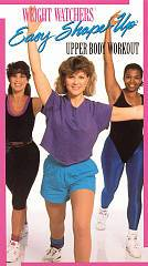 Weight Watchers Easy Shape Up   Upper Body Workout VHS, 1993