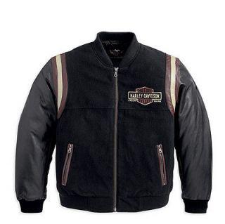 Harley Davidson Mens Academy Bomber Jacket