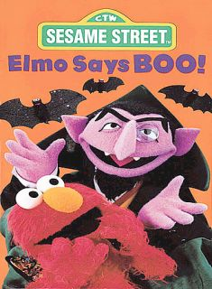 Sesame Street   Elmo Says Boo DVD, 2002