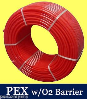 300 ft PEX O2 Radiant Heat Tubing Wood Boiler