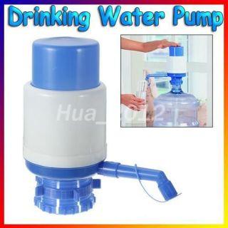 Bottled Drinking Water Hand Press Pump 5 6 Gal w/ Dispenser Home
