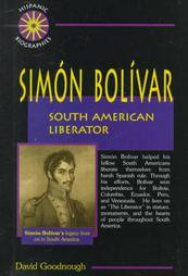 Simon Bolivar South American Liberator by David Goodnough 1998