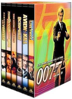 James Bond Collection 007 Gift Set   Vol. 3 DVD, 2000, 6 Disc Set