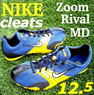 oz. ~ NEW ~ Bowerman NIKE ZOOM Rival MD Track Field shoes sprint