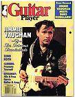 Guitar Player Magazine (July 1986) Jimmie Vaughan / Zeno Roth / T Bone