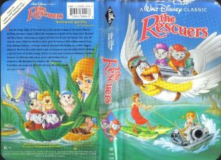 Disneys The Rescuers Down Under (VHS, 1991) NEW Black Diamond Clam