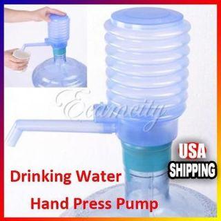 Bottled Drinking Water Easy Hand Press Pump w/ Dispenser Home Indoor