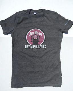 Jim Beam Whiskey Bourbon Bella T Shirt Womens NEW XL