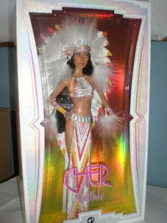 CHER HALF BREED INDIAN BARBIE BLACK LABEL NRFB