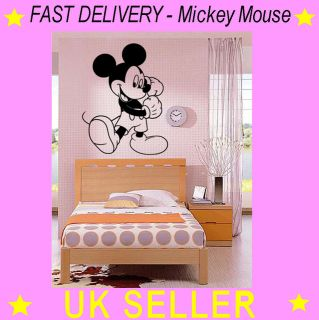 Mickey Mouse Wall Art Sticker Decal Vinyl Disney Graphics Micky Toy