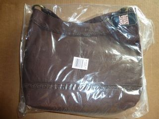 new Lucky Brand $179.99 JOSHUA TREE purse Bag Hobo BROWN leather purse