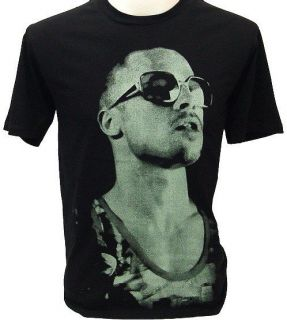 Brad Pitt Flight Club Hustler Retro Punk Rock T Shirt M