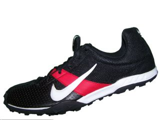 Mens Nike Zoom Miler Xc Track Shoes Black White Sport Red 309490 011