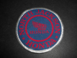 Vintage 1980s North Jackson Motorcycles Honda Patch