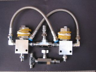 Lowrider Hydraulic Two Dump Kit, new & chrome finished, one of best