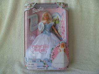 2000 NRFB Barbie doll as PRINCESS BRIDE 28251 Pretty Princess to