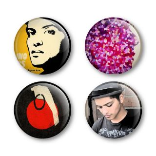 Bruno Mars Badges Buttons Pins Tickets Shirts Albums Vinyl