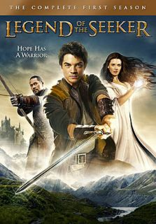 Legend of the Seeker The Complete First Season DVD, 2009, 5 Disc Set