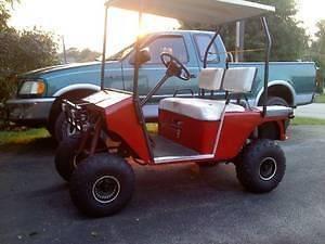 CLOSEOUT Golf Seat Covers, EZ GO Golf Cart,1976 1993 Models (2 Piece